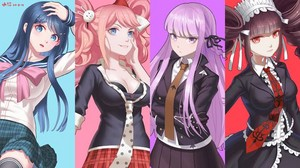 Danganronpa girls