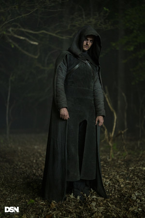 "Daniel Sharman as The Weeping Monk in Cursed - ""Cursed"""