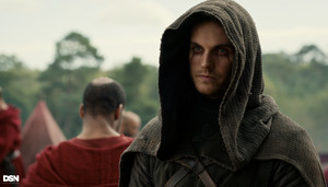 "Daniel Sharman as The Weeping Monk in Cursed - ""Poisons"""