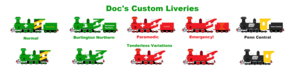 Doc Custom Liveries