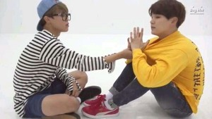 Jimin and Yoongi