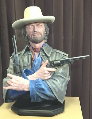 Josey Wales Eastwood bust statue