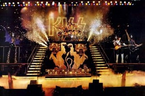 Kiss ~San Diego, California...August 19, 1977 (Love Gun Tour - ALIVE II photo Shoot)