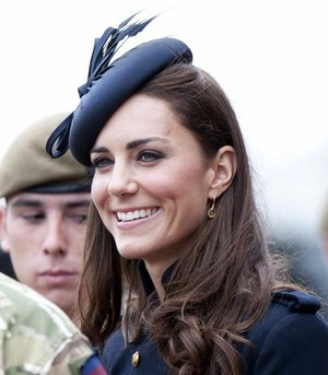 Kate ~ Irish Guards Medal Parade (2011)
