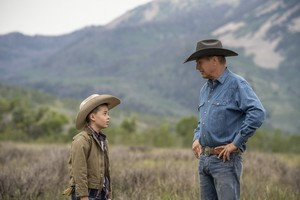 Kevin Costner as John Dutton in Yellowstone: An Acceptable Surrender