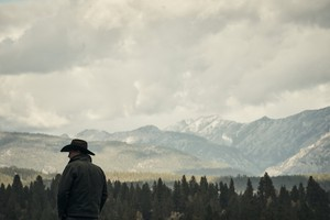 Kevin Costner as John Dutton in Yellowstone: Cowboys and Dreamers