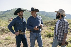 Kevin Costner as John Dutton in Yellowstone: Freight Trains and Monsters