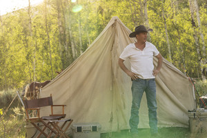 Kevin Costner as John Dutton in Yellowstone: Going Back to Cali