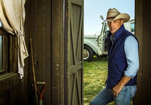 Kevin Costner as John Dutton in Yellowstone: Season 2 Portrait
