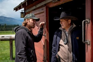 Kevin Costner as John Dutton in Yellowstone: Sins of the Father