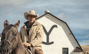 Kevin Costner as John Dutton in Yellowstone: The Long Black Train