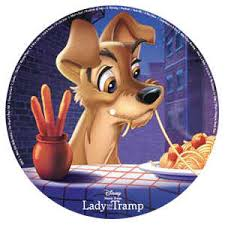 Lady And The Tramp Collector's Plate