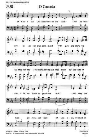 O Canada (Lyrics + Sheet Music)