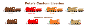 Pete Custom Liveries