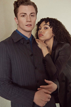 Richard Ellis and Sofia Bryant - Netflix Queue Photoshoot - 2020