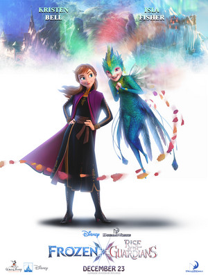 Rise of the Guardians / Frozen 2 Posters