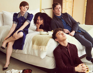 Sophia Lillis, Sophia Bryant, Richard Ellis and Wyatt Oleff - Netflix Queue Photoshoot - 2020