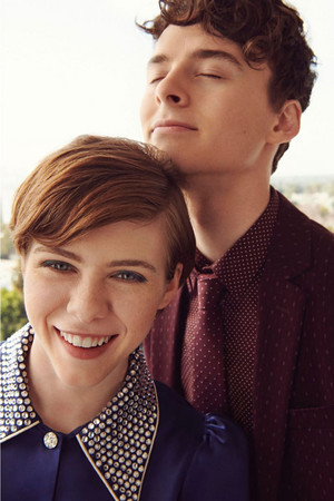 Sophia Lillis and Wyatt Oleff - Netflix Queue Photoshoot - 2020
