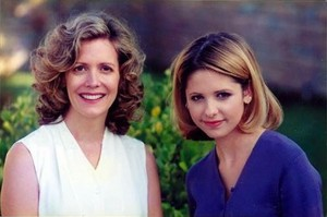 Ted; the picture of Joyce and Buffy