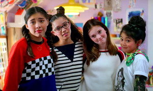 The Baby-Sitters Club - Season 1 Still - Dawn, Mary Anne, Kristy and Claudia