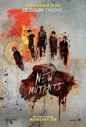The New Mutants (2020) movie posters