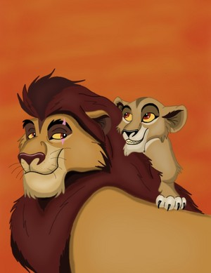 The Strange Lion (Zira's Father)?!