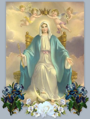 Virgin Mary is the কুইন of Heaven