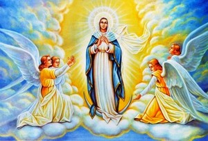 Virgin Mary is the Queen of Heaven