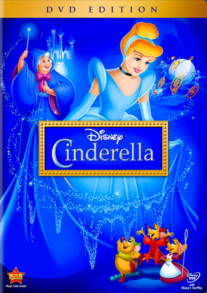 Walt Disney DVD Covers - Cinderella: Diamond Edition DVD