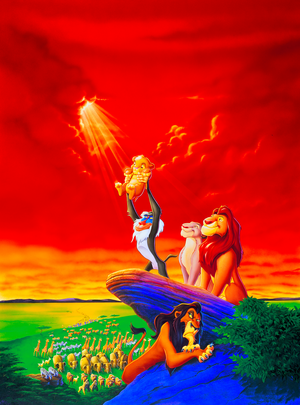 Walt 디즈니 Posters - The Lion King