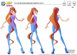 Winx Club Bloom WOW: World Of Winx Concept arts
