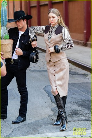 gigi hadid goes country for western inspired photo shoot in nyc 03