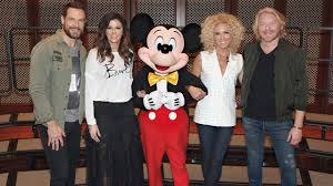 Little Big Town And Mickey Mouse