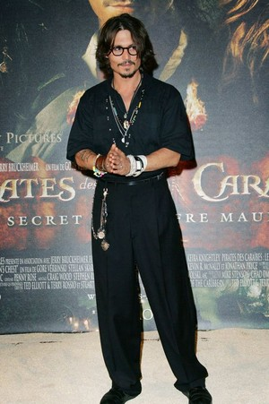 *Disney Actor : Johnny Depp*