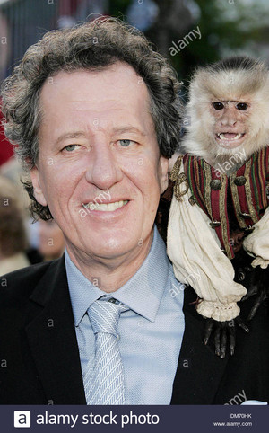 *GEOFFREY RUSH / JACK THE MONKEY IN DISNEYLAND*