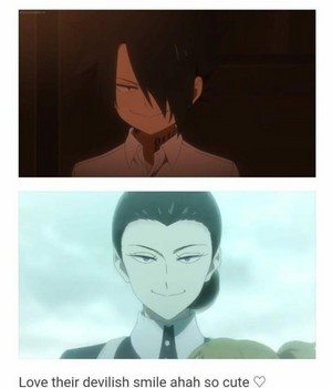 *Promised neverland* No one can beat them for their devil smile