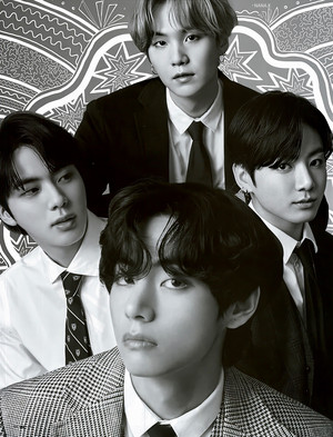 [SCAN] ETHEREAL MEN IN SUITS | BTS X GQ JAPAN AUGUST 2020