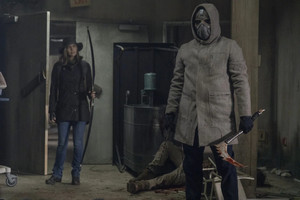 10x16 ~ A Certain Doom ~ Maggie and Masked Man