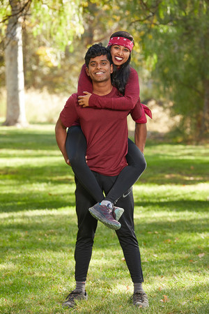 Aparna and Eswar Dhinakaran (The Amazing Race 32)