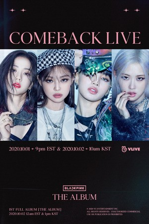 BLACKPINK - 'THE ALBUM' COMEBACK LIVE
