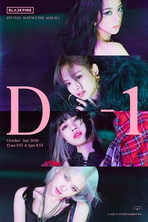 BLACKPINK - 'THE ALBUM' D1 POSTER