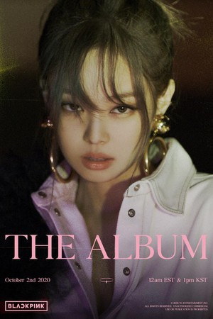 BLACKPINK - 'THE ALBUM' JENNIE TEASER POSTER