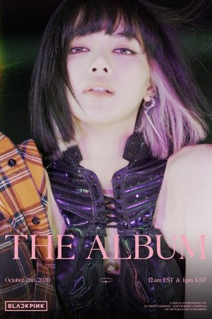 BLACKPINK 'THE ALBUM' LISA TEASER POSTER