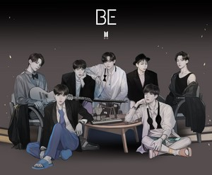 BTS 'BE' Concept photo fanart