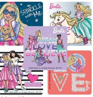 Barbie: Princess Adventure Stickers