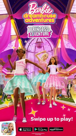 barbie Princess Adventures on Dreamhouse Adventures App