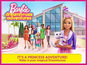 búp bê barbie Princess Adventures on Dreamhouse Adventures App
