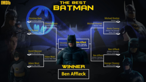 Batfleck is the best Batman. I have proof.