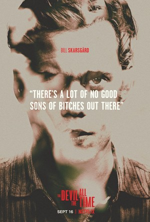 Bill Skarsgård || The Devil All the Time || Poster (2020)
