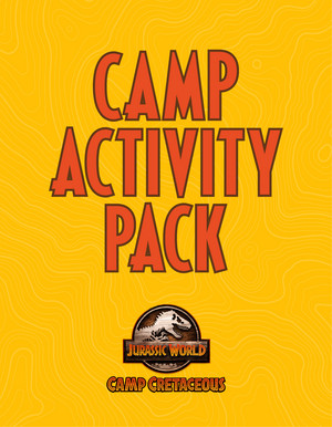 Camp Cretaceous Activity Book